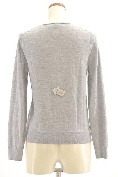 UNITED ARROWS(ユナイテッドアローズ)の古着「クルーネックパールカーディガン(カーディガン・ボレロ)」大画像4へ
