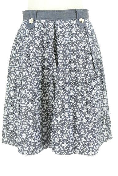 KarL Park Lane(カールパークレーン)の古着「花柄カッティングスカート(スカート)」大画像1へ