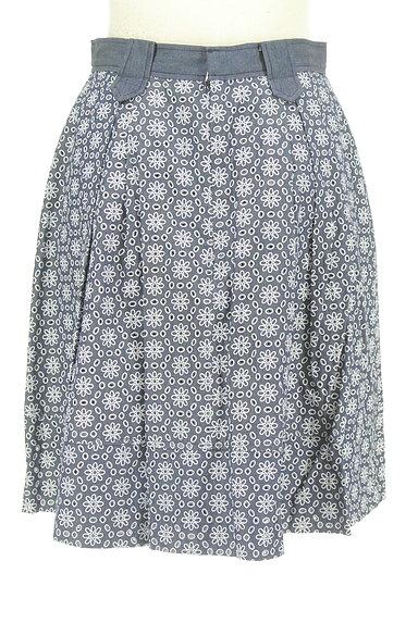 KarL Park Lane(カールパークレーン)の古着「花柄カッティングスカート(スカート)」大画像2へ