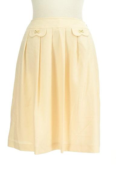 KarL Park Lane(カールパークレーン)の古着「タックフレア膝丈スカート(スカート)」大画像1へ
