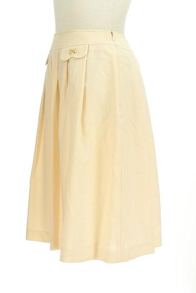 KarL Park Lane(カールパークレーン)の古着「タックフレア膝丈スカート(スカート)」大画像3へ