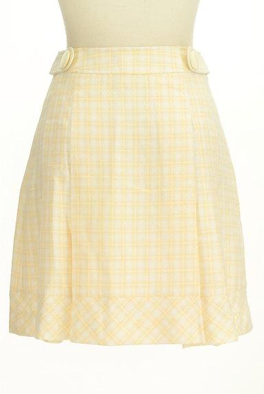 KarL Park Lane(カールパークレーン)の古着「ラメチェック柄タックスカート(スカート)」大画像2へ