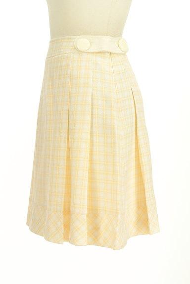 KarL Park Lane(カールパークレーン)の古着「ラメチェック柄タックスカート(スカート)」大画像3へ