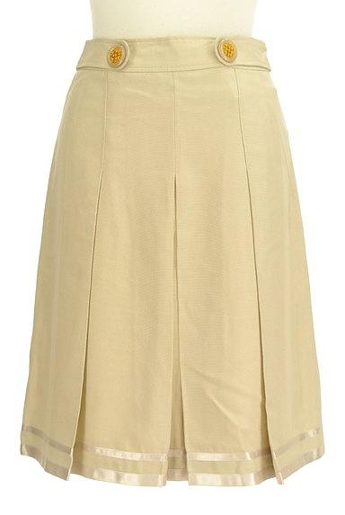 KarL Park Lane(カールパークレーン)の古着「タックプリーツ膝丈スカート(スカート)」大画像1へ