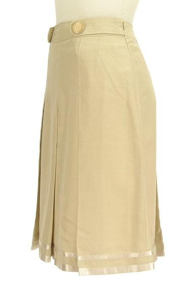 KarL Park Lane(カールパークレーン)の古着「タックプリーツ膝丈スカート(スカート)」大画像3へ
