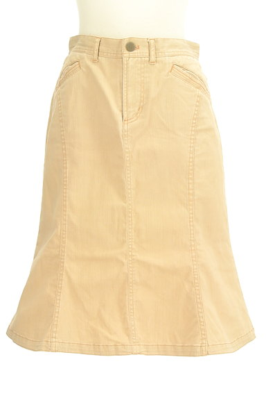 OZOC(オゾック)の古着「裾ペプラムカラースカート(スカート)」大画像1へ