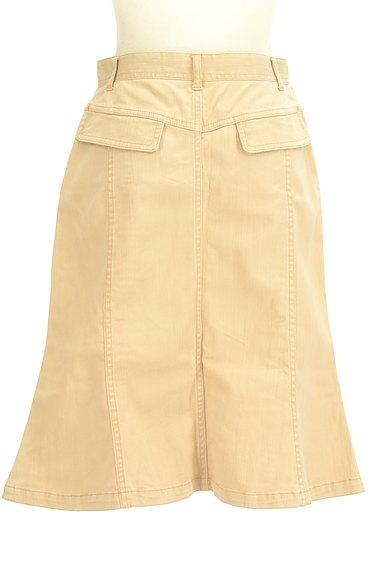 OZOC(オゾック)の古着「裾ペプラムカラースカート(スカート)」大画像2へ