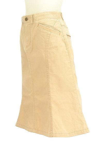 OZOC(オゾック)の古着「裾ペプラムカラースカート(スカート)」大画像3へ