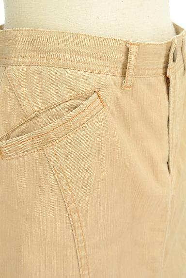 OZOC(オゾック)の古着「裾ペプラムカラースカート(スカート)」大画像5へ