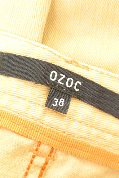 OZOC(オゾック)の古着「裾ペプラムカラースカート(スカート)」大画像6へ