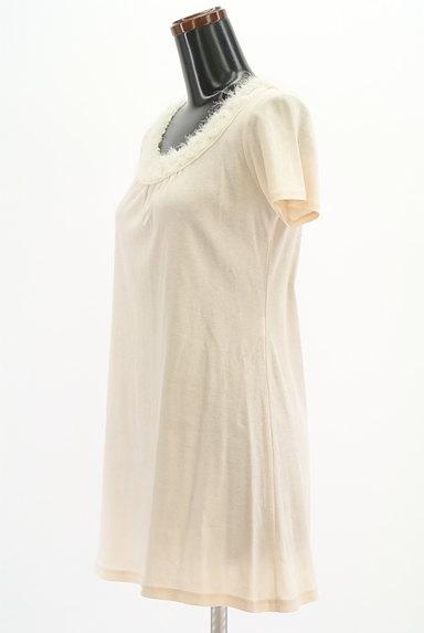 LOUNIE(ルーニィ)の古着「シフォンネックロングカットソー(カットソー・プルオーバー)」大画像3へ