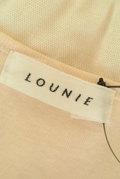 LOUNIE(ルーニィ)の古着「シフォンネックロングカットソー(カットソー・プルオーバー)」大画像6へ
