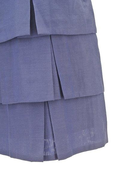 Brahmin(ブラーミン)の古着「ティアードフリルカラースカート(ミニスカート)」大画像4へ