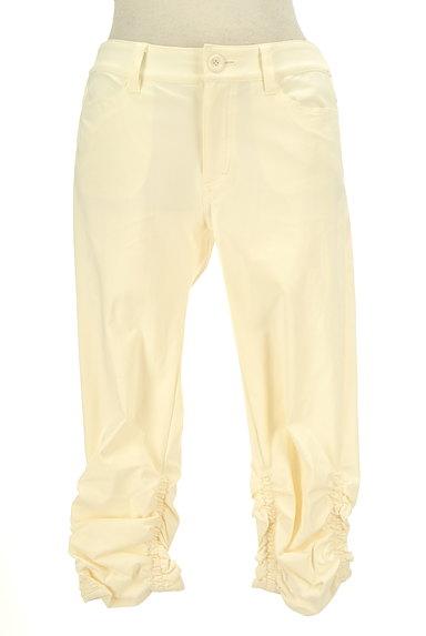 BEATRICE(ベアトリス)の古着「裾シャーリングクロップドパンツ(パンツ)」大画像1へ