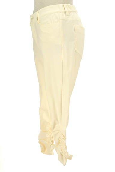 BEATRICE(ベアトリス)の古着「裾シャーリングクロップドパンツ(パンツ)」大画像3へ