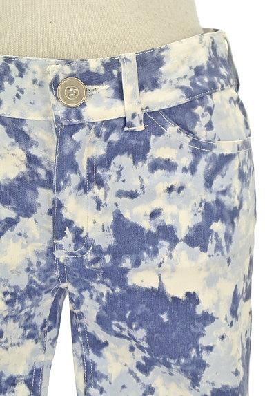 BEATRICE(ベアトリス)の古着「タイダイ裾ギャザースキニーパンツ(パンツ)」大画像4へ