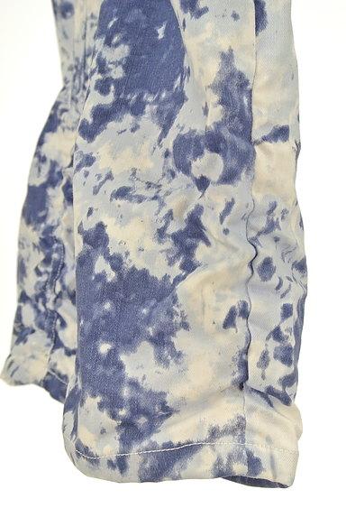 BEATRICE(ベアトリス)の古着「タイダイ裾ギャザースキニーパンツ(パンツ)」大画像5へ