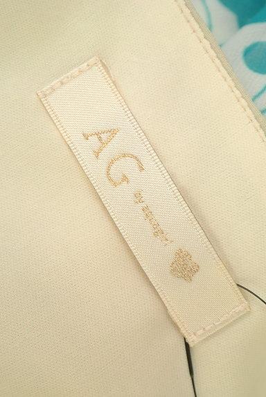 AG by aquagirl(エージーバイアクアガール)の古着「総柄バイカラー切替ワンピース(ワンピース・チュニック)」大画像6へ