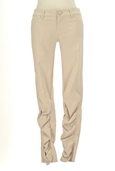 BEATRICE(ベアトリス)の古着「裾ギャザーカラースキニーパンツ(パンツ)」大画像1へ