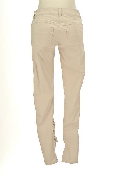 BEATRICE(ベアトリス)の古着「裾ギャザーカラースキニーパンツ(パンツ)」大画像2へ