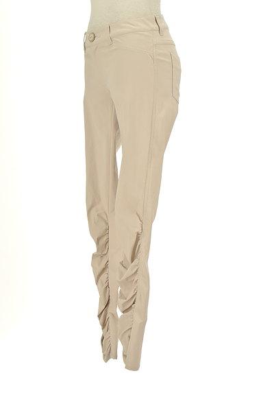 BEATRICE(ベアトリス)の古着「裾ギャザーカラースキニーパンツ(パンツ)」大画像3へ
