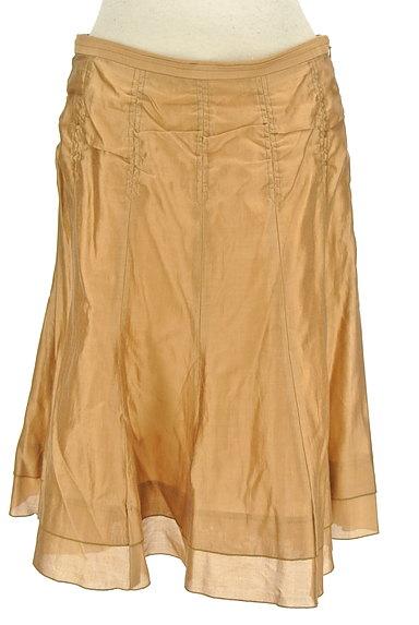 ARTISAN(アルチザン)の古着「シャイニー裾ティアードスカート(スカート)」大画像1へ