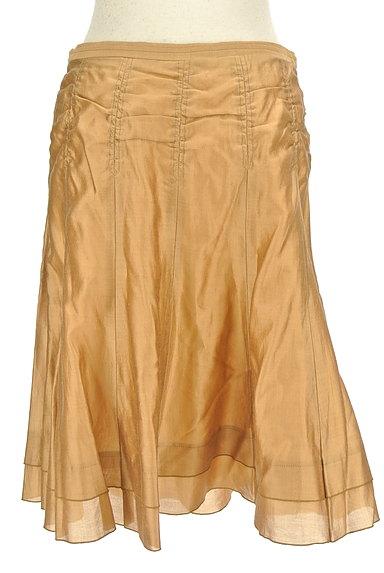 ARTISAN(アルチザン)の古着「シャイニー裾ティアードスカート(スカート)」大画像2へ