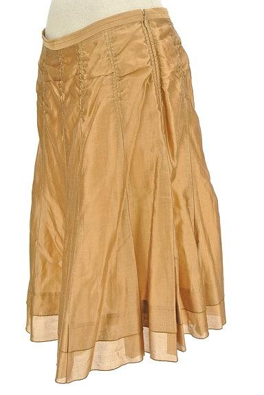 ARTISAN(アルチザン)の古着「シャイニー裾ティアードスカート(スカート)」大画像3へ