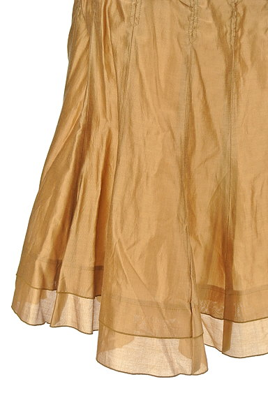 ARTISAN(アルチザン)の古着「シャイニー裾ティアードスカート(スカート)」大画像5へ