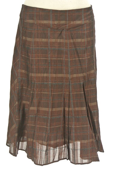 ARTISAN(アルチザン)の古着「チェック柄フレアスカート(スカート)」大画像1へ