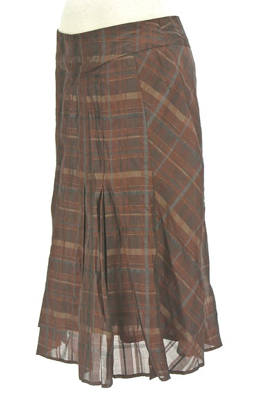 ARTISAN(アルチザン)の古着「チェック柄フレアスカート(スカート)」大画像3へ