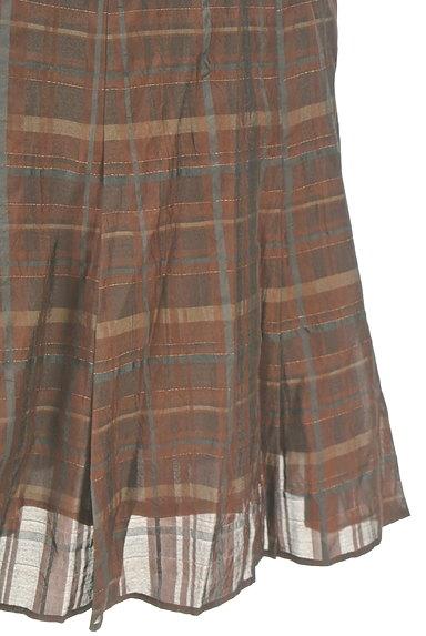 ARTISAN(アルチザン)の古着「チェック柄フレアスカート(スカート)」大画像5へ