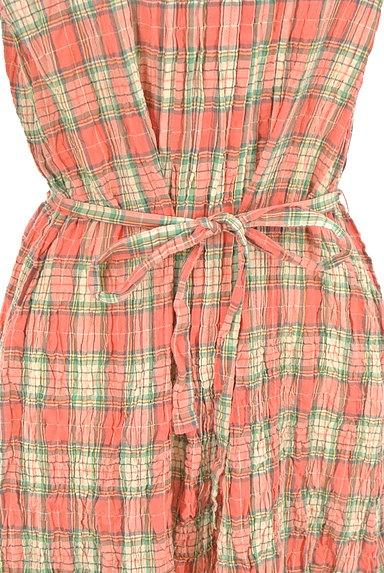 Mademoiselle NON NON(マドモアゼルノンノン)の古着「7分袖ワッシャーロングシャツワンピ(ワンピース・チュニック)」大画像4へ