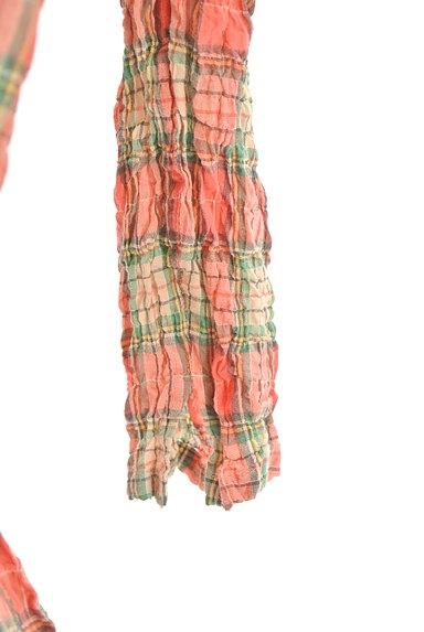 Mademoiselle NON NON(マドモアゼルノンノン)の古着「7分袖ワッシャーロングシャツワンピ(ワンピース・チュニック)」大画像5へ