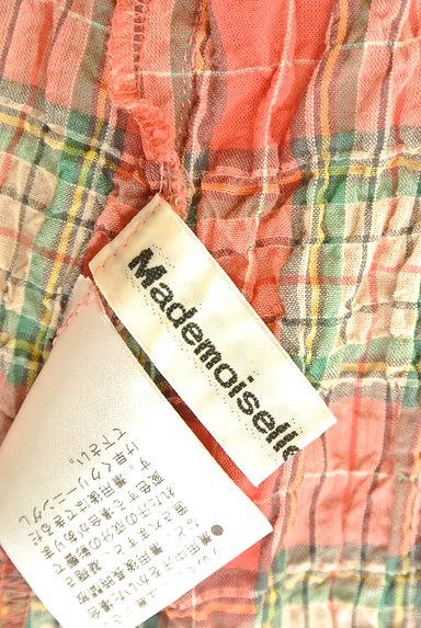 Mademoiselle NON NON(マドモアゼルノンノン)の古着「7分袖ワッシャーロングシャツワンピ(ワンピース・チュニック)」大画像6へ