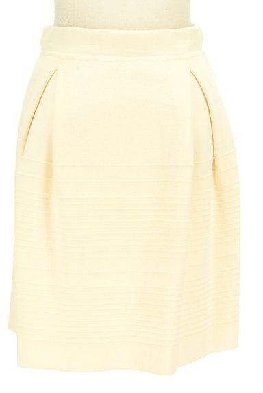 MAX&Co.(マックス&コー)の古着「タックセミフレアニットスカート(スカート)」大画像2へ