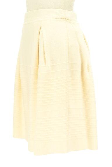 MAX&Co.(マックス&コー)の古着「タックセミフレアニットスカート(スカート)」大画像3へ