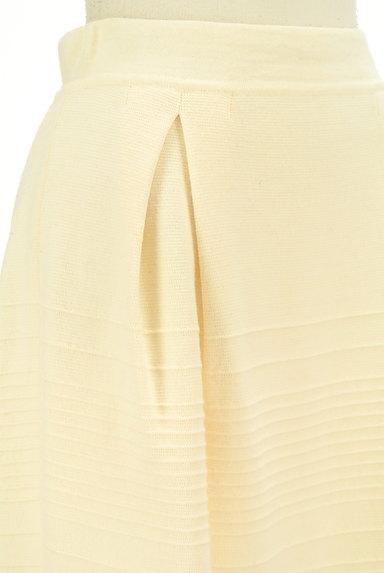 MAX&Co.(マックス&コー)の古着「タックセミフレアニットスカート(スカート)」大画像4へ