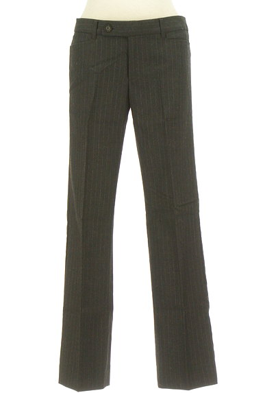 TOMORROWLAND(トゥモローランド)の古着「ピンストライプ柄美脚パンツ(パンツ)」大画像1へ