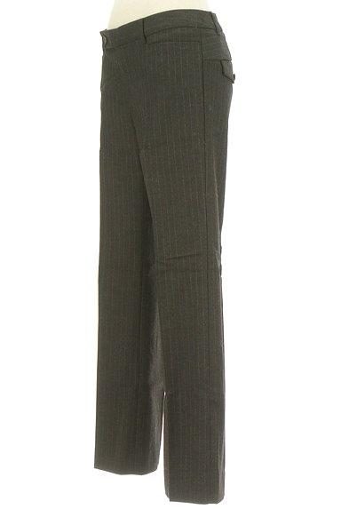 TOMORROWLAND(トゥモローランド)の古着「ピンストライプ柄美脚パンツ(パンツ)」大画像3へ