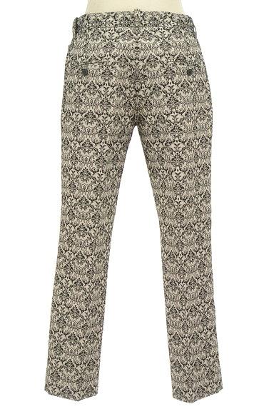 UNITED ARROWS(ユナイテッドアローズ)の古着「ダマスク柄センタープレスパンツ(パンツ)」大画像2へ