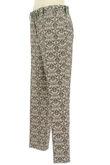 UNITED ARROWS(ユナイテッドアローズ)の古着「ダマスク柄センタープレスパンツ(パンツ)」大画像3へ