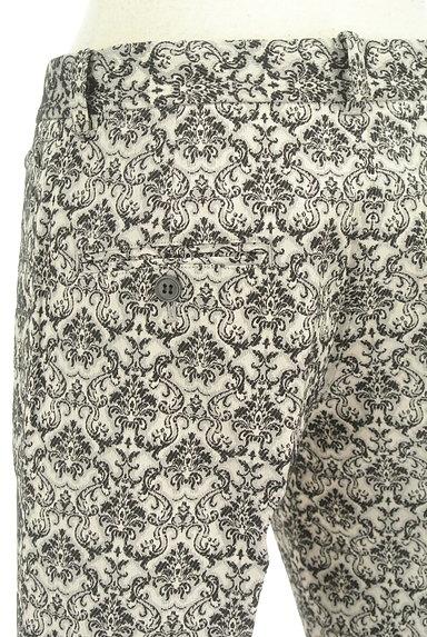 UNITED ARROWS(ユナイテッドアローズ)の古着「ダマスク柄センタープレスパンツ(パンツ)」大画像5へ