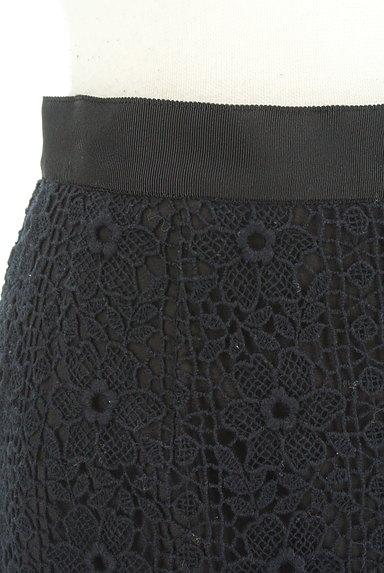 Debut de Fiore by LAISSE PASSE(デビュー・ド・フィオレ)の古着「花刺繍レースタイトスカート(スカート)」大画像4へ
