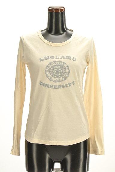 Lois CRAYON(ロイスクレヨン)の古着「ロゴプリントロングTシャツ(Tシャツ)」大画像1へ