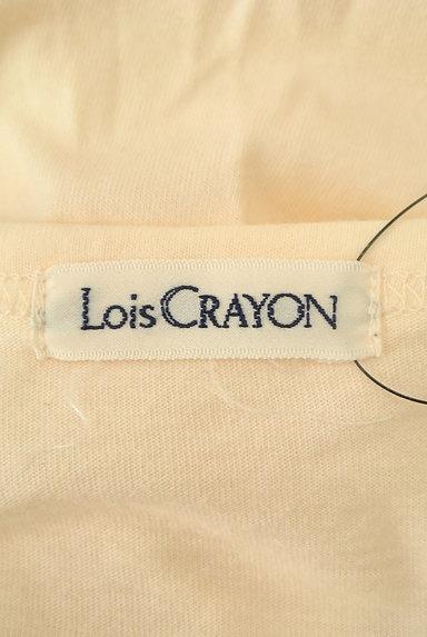 Lois CRAYON(ロイスクレヨン)の古着「ロゴプリントロングTシャツ(Tシャツ)」大画像6へ