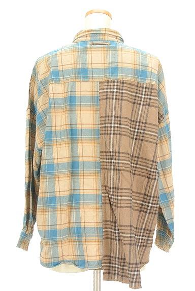 studio CLIP(スタディオクリップ)の古着「切替チェック柄シャツ(カジュアルシャツ)」大画像2へ