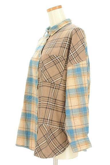 studio CLIP(スタディオクリップ)の古着「切替チェック柄シャツ(カジュアルシャツ)」大画像3へ