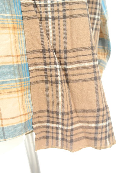 studio CLIP(スタディオクリップ)の古着「切替チェック柄シャツ(カジュアルシャツ)」大画像5へ