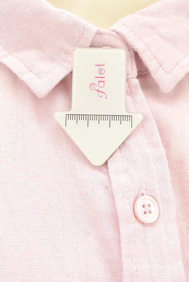 studio CLIP(スタディオクリップ)の古着「パステルカラーガーゼシャツ(カジュアルシャツ)」大画像5へ